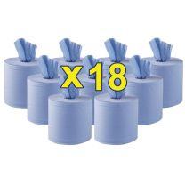 Jantex blauw Centre Feed 2-laags