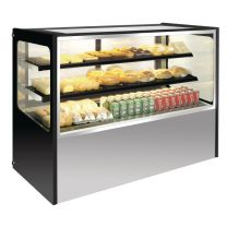 Polar display-vitrine RVS 120(h) x 120(b) 400ltr (M)