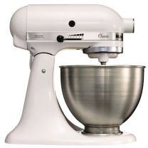 KitchenAid K45 mixer-keukenrobot wit 4,28ltr